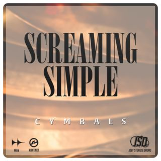 Joey Sturgis Drums Screaming Simple Cymbals License Code Product Image