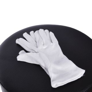 KCL Cotton Gloves White Large Product Image