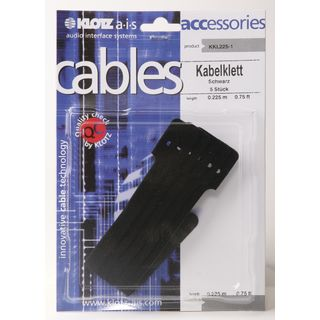Klotz Cable Tie, Pack Of 5 Black, 225mm Product Image