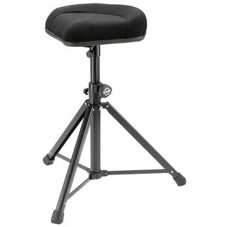 König & Meyer 14053 stool standing aid black with fabric covering Product Image