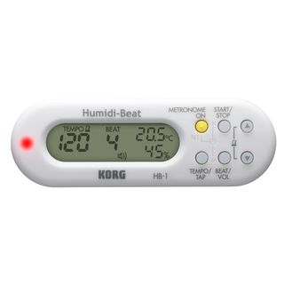 Korg HB-1 WH Metronome Hygrometer Thermometer, white Product Image
