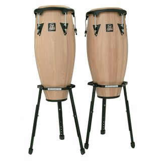 "Latin Percussion Aspire Conga Set LPA647B-AW 11"" & 12"" Natural Product Image"