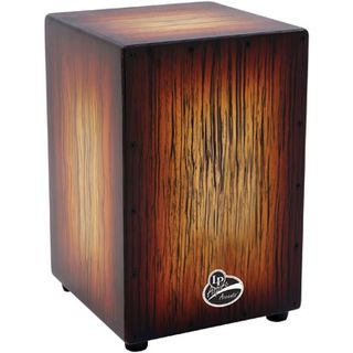 Latin Percussion Cajon Aspire Accent LP1332, Sunburst Product Image