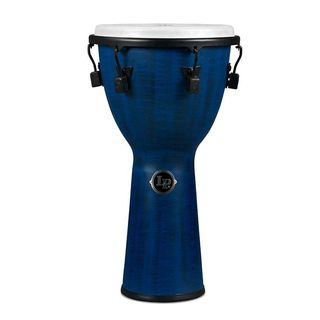 "Latin Percussion FX Mech Djembe LP727B 12-1/2"", Blue Product Image"