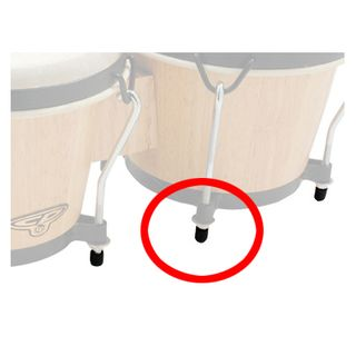 Latin Percussion Rubber Bongo Tips CP221R, B-Stock Productafbeelding