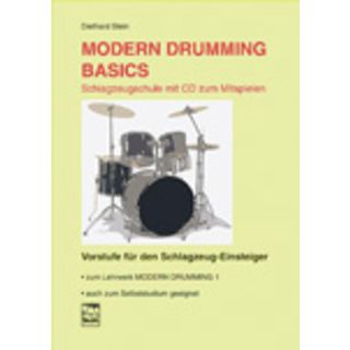 Leu-Verlag Modern Drumming Basics  book incl. CD  (D. Stein) Product Image