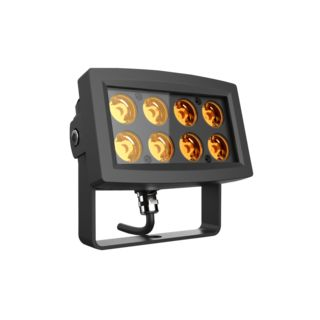 lightmaXX ARC 8x 1W LED Flood IP65 Amber Image du produit