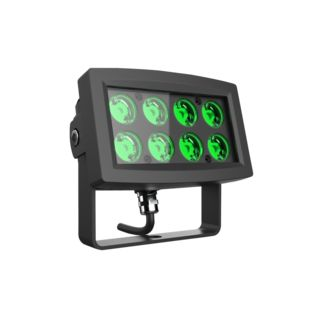 lightmaXX ARC 8x 1W LED Flood IP65 Green Image du produit