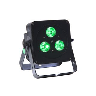 lightmaXX FLAT PAR MINI QUAD 3x5W RGBW, black, IR Remote Product Image
