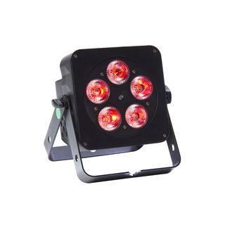 lightmaXX FLAT PAR QUAD 5x5W RGBW LED, IR Remote Product Image