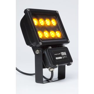 lightmaXX GARDEN LIGHT AMBER 8x1W Illuminator II IP65 Produktbild