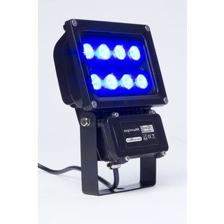 lightmaXX GARDEN LIGHT BLUE 8x1W Illuminator II IP65 Produktbild