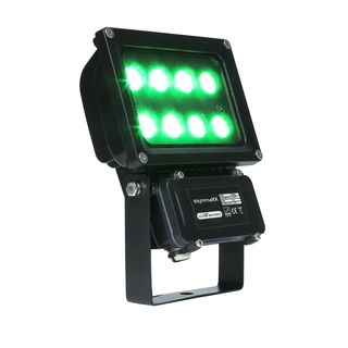 lightmaXX GARDEN LIGHT GREEN 8x1W Illuminator II IP65 Produktbild