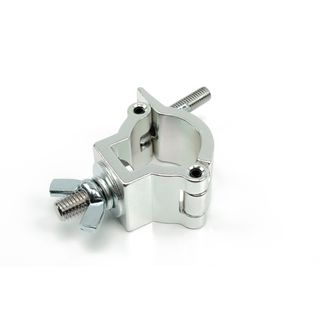 lightmaXX Half Coupler Silver 32-35mm TÜV,75kg Productafbeelding
