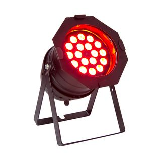 lightmaXX LED Mega PAR 64 black 18x 8 Watt Quad LEDs Product Image