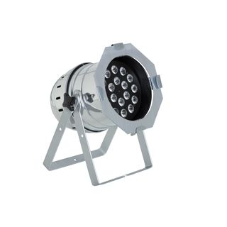 lightmaXX LED Mega PAR 64 polished 18x 8 Watt Quad LEDs Produktbillede
