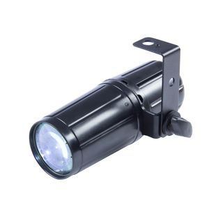 lightmaXX LED Pinspot 3W LED 3W LED, Beam angle: 6 ° Produktbillede