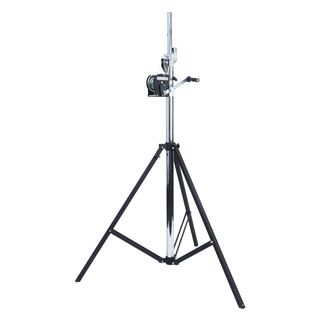 lightmaXX LS-4000 PRO WIND-UP STAND 4m, adaptateur TV, TÜV/GS, 85 kg Image du produit