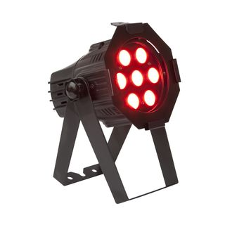lightmaXX Platinum LED mini PAR Tri-LED  7x3 Watt RGB Tri-LEDs, Black Product Image