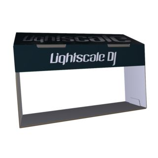 Lightscale DJ Sun Shade for Pioneer Players Produktbild