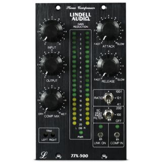 Lindell Audio 77X-500 Stereo Bus Compressor für die 500er Serie Product Image