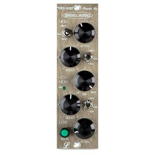 Lindell Audio PEX-500 500 Series Format Pultec Style EQ Module Product Image