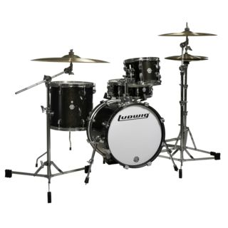 Ludwig Breakbeats ShellSet, Ahmir Thompson, Black Sparkle Product Image