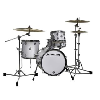 Ludwig Breakbeats ShellSet, Ahmir Thompson, White Sparkle Product Image