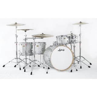 Ludwig Centennial Zep ShellSet, Silver Sparkle Product Image