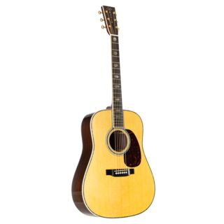 Martin Guitars D-45 Dreadnought, Standard Series, Natural, incl. Case Product Image