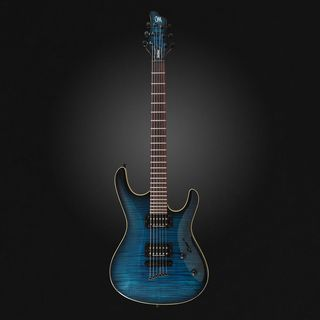 Mayones Setius GTM 6 T-DBLUB-G Transparent Dirty Blueburst Product Image