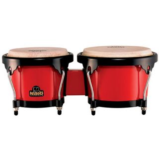 "Meinl ABS Bongo Plus NINO17R-BK, 6,5""+7,5"", Red, Black HW Product Image"