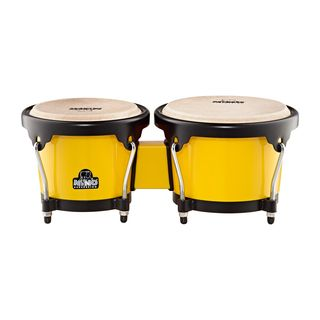 "Meinl ABS Bongo Plus NINO17Y-BK, 6.5""+7.5"", Yellow, Black HW Product Image"