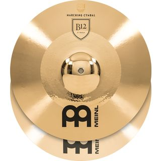 "Meinl B12 Marching Cymbals 16"", Medium, MA-B12-16M Product Image"