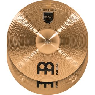 "Meinl Bronze Marching Cymbals 14"", MA-BO-14M Product Image"