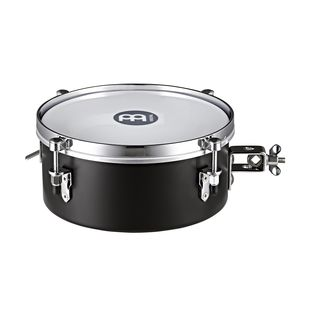 "Meinl Drummer Snare Timbale MDST10BK 10"", Steel, Black Product Image"