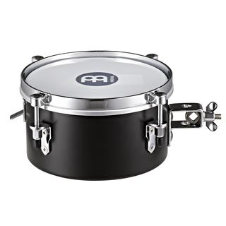 "Meinl Drummer Snare Timbale MDST8BK, 8"", Steel, Black Product Image"
