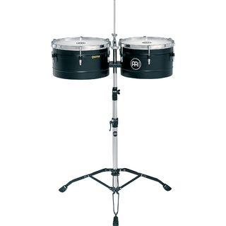 "Meinl Floatune Timbales TI1BK, 13"" + 14"", Black Product Image"