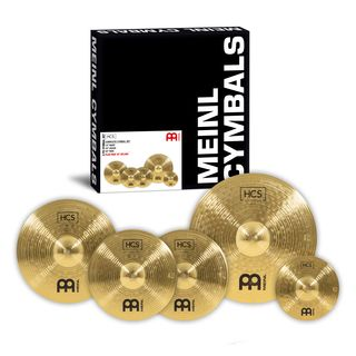 Meinl HCS Cymbal Set Special Edition with free Splash Product Image