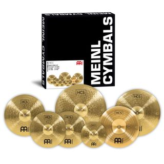 Meinl HCS Super Cymbal Set 10SP,14HH,16CR,16CH,18CR,20R Product Image