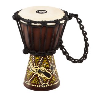 "Meinl Headliner Djembe HDJ6-XXS, 4-1/2"", Dark Serpent Design Product Image"