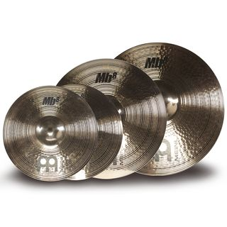 Meinl MB8 Cymbal Set MS-Edition, 14HH-B, 18MC-B, 20HR-B Produktbillede