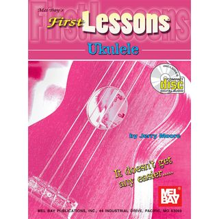 Mel Bay Publications First Lessons Ukulele Jerry Moore Productafbeelding