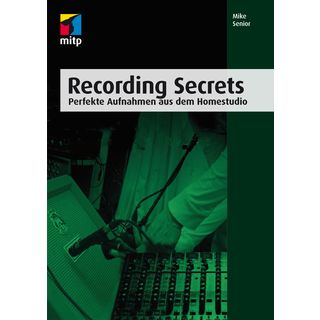 mitp Verlag Recording Secrets Mike Senior Product Image