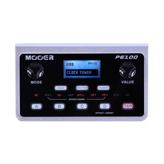 Mooer Audio PE 100 Portable Guitar Effects Product Image