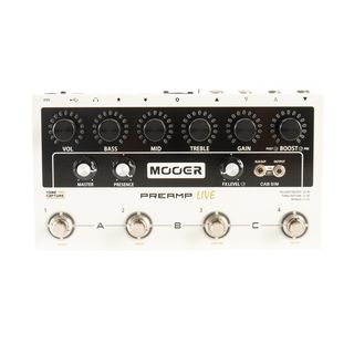 Mooer Audio Preamp LIVE Product Image
