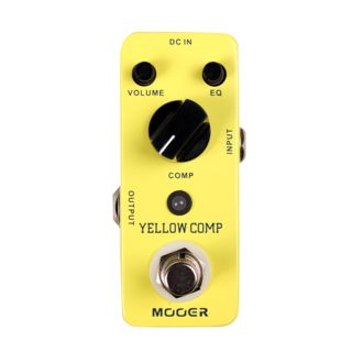 Mooer Audio Yellow Comp Optical Compressor Pedal Product Image