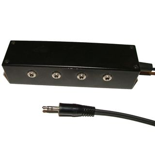 Morgan Acoustic Ltd. Headphone Splitter 4-Way Product Image