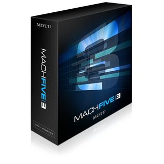 MOTU MachFive 3 Software Sampler    Product Image