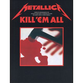 Music Sales Metallica: Kill 'Em All Produktbild